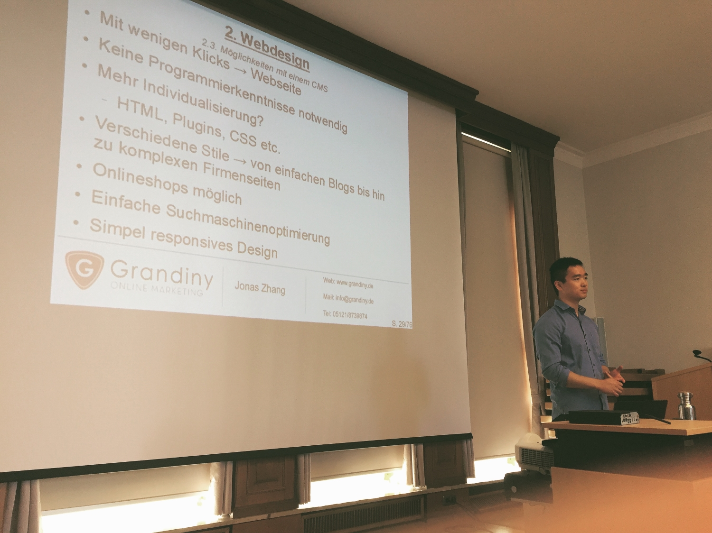 seminar online marketing